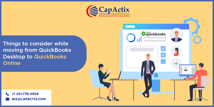 What to Consider While Shifting from QuickBooks Desktop to QuickBooks Online?