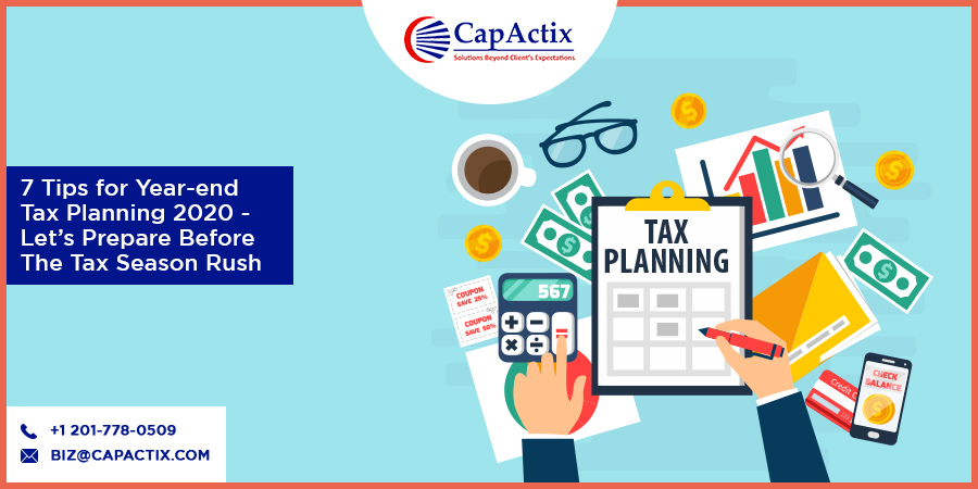 7 Tips for year end tax planning 2020