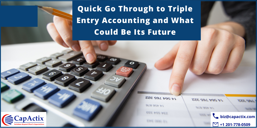 future of Triple entry accounting