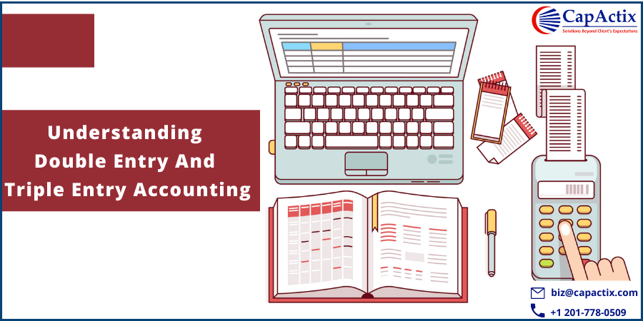 Comparison between double entry accounting and triple entry accounting